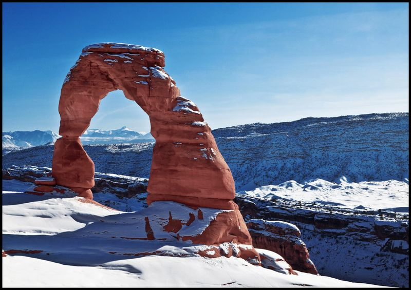 Delicate-Arch-in-Snow-#3