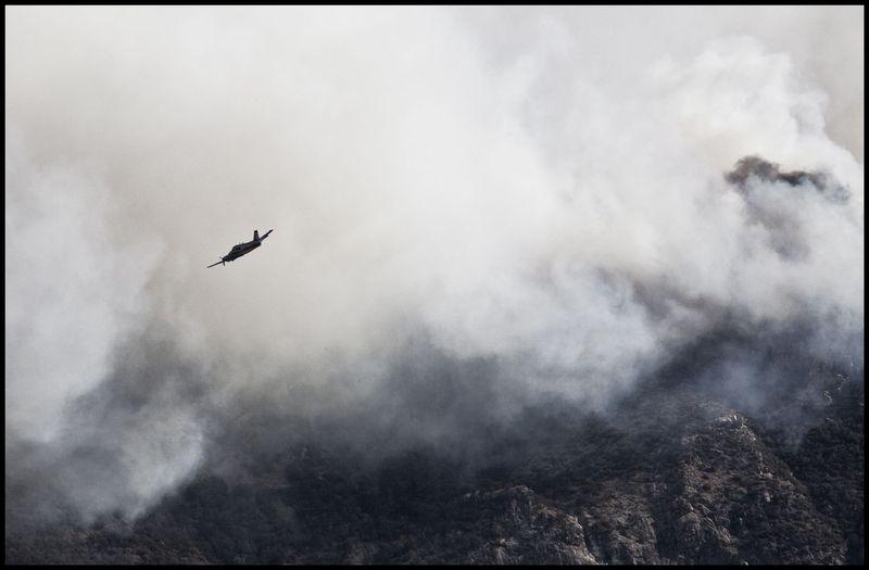 Plane-Over-Sierra-Vista-#2