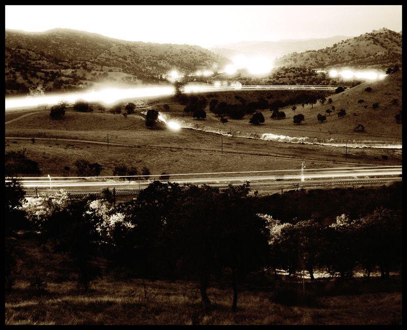 Tehachapi-Loop-At-Night-#3
