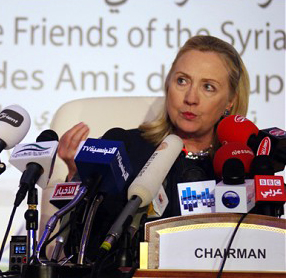 Hilary in Tunis