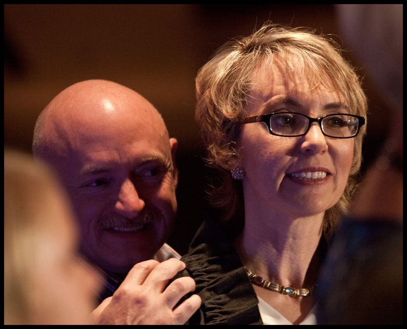 Gabby-Giffords-&-Mark-Kelly-at-Ron-Barber's-#1