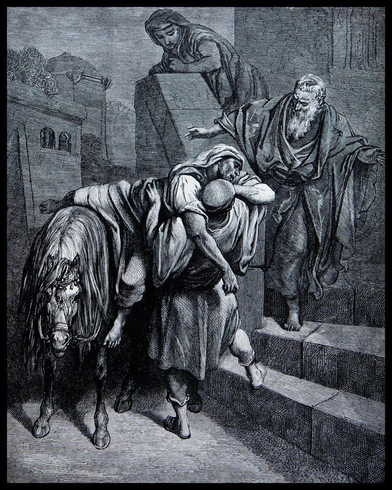 Arrival-Of-The-Good-Sameritan-At-The-Inn-#1