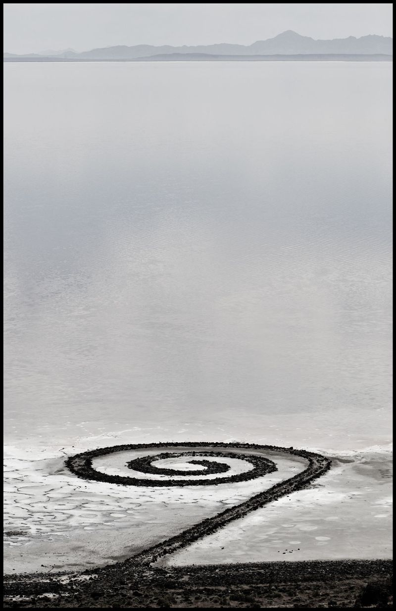 The Spiral Jetty, Utah
