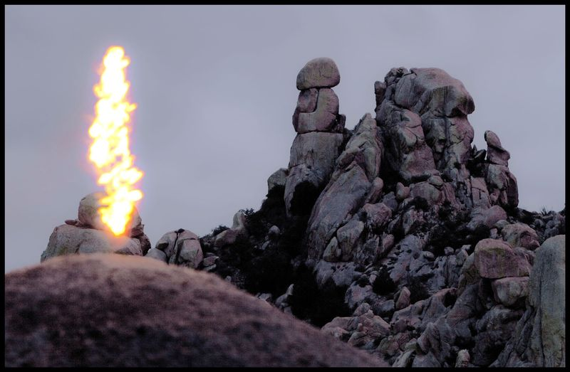 Council Rocks Flame Tower, Arizona