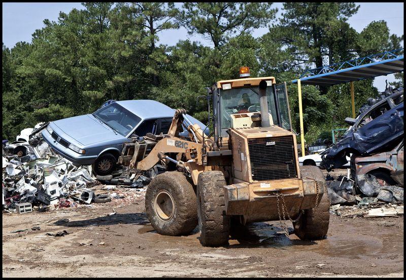 Pamela's Oldsmobile Heading To The Crusher, North Carolina
