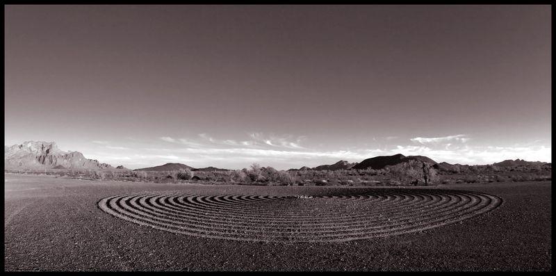 Spiral-Labyrinth-Sepia-#3