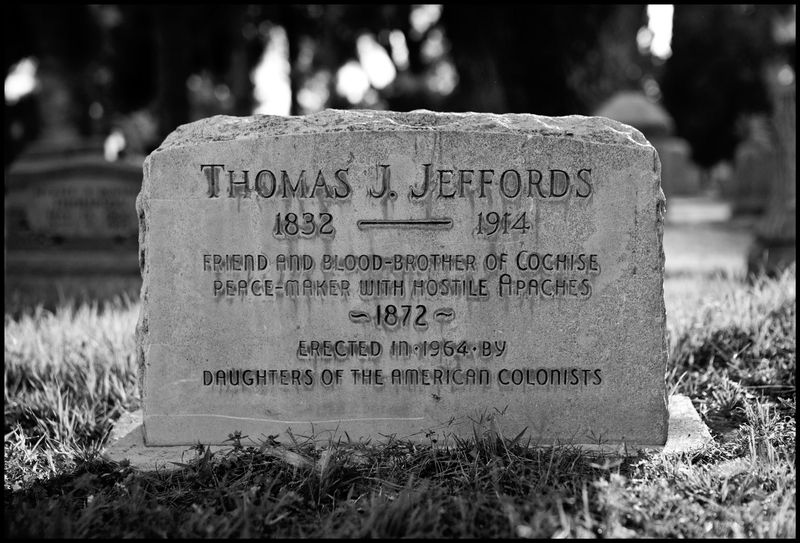 Thomas J. Jeffords, Arizona