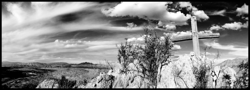 Cross-Old-Sonoita-B&W-#7