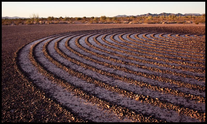 Spiral-Labyrinth-(Sunset-Detail)-#3