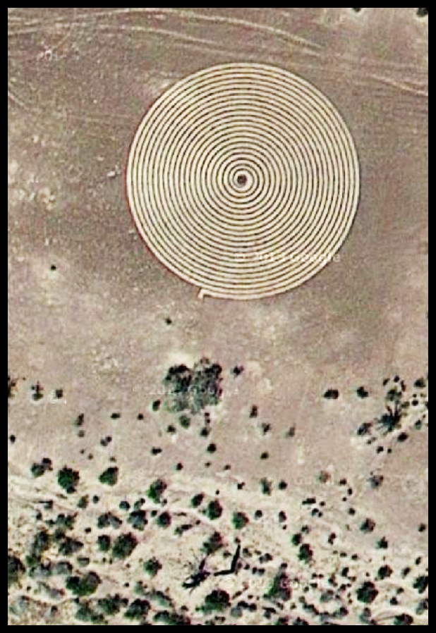 Google Spiral Labyrinth #3