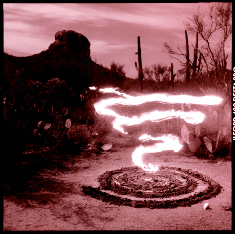 Owl's Head Flame Spiral, Arizona