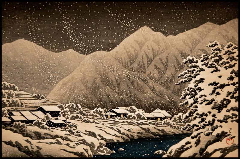 Hasui-Nakayama-Canyon -Hida-#17