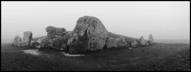 West-Kennet-Long-Barrow-In-Fog-#17