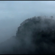 Pilot-Mountain-In-Fog-#20