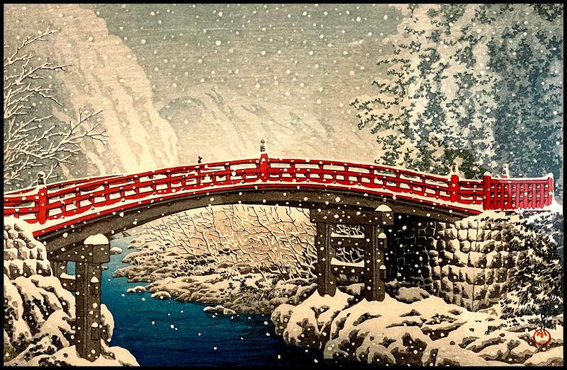 Hasui-Sacred-Bridge-Nikko-#21