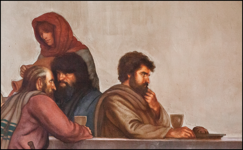 Ben-Long-Last-Supper-Christ-Two-#20