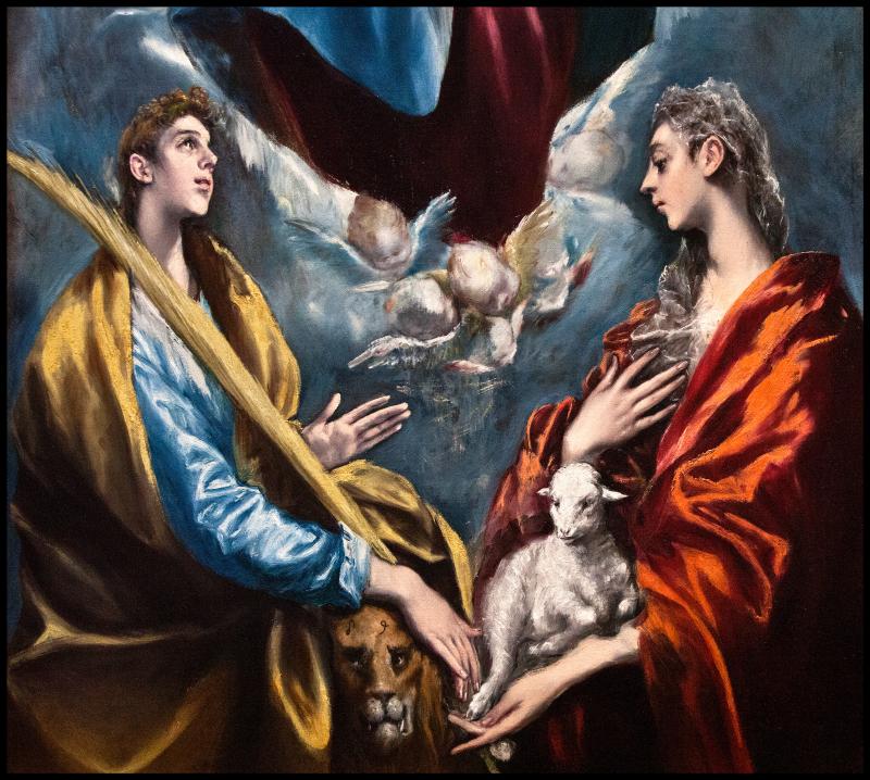 El-Greco-St-Martini-St-Agnes-1597-#21